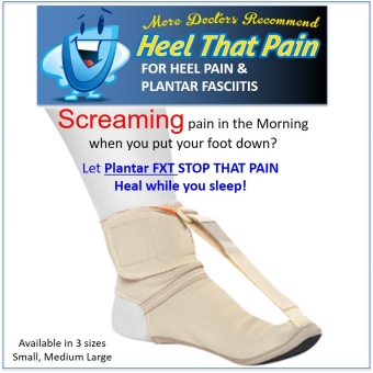 Harga HTP Plantar FXT Soft Night Splint Small