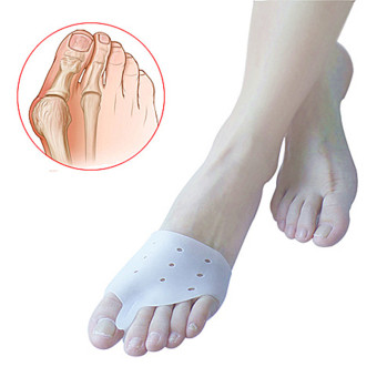 Harga 2pcs Hallux valgus Orthotics,Silicone Toes Separator The big Toe Bunion Corrector,Daily Use Foot Care Tool Orthopedic pad
