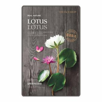 Harga The Face Shop Real Nature Mask (Lotus) 1 Piece