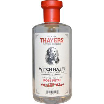 Harga Thayers, Witch Hazel Aloe Vera Formula, Alcohol-Free Toner, Rose Petal, 355 ml