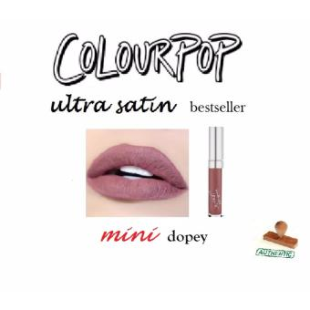 Harga COLOURPOP ULTRA SATIN LIP Mini's Bestseller 100% Authentic [dopey]