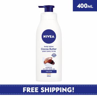 Harga Nivea Body Unisex Lotion Cocoa Butter Body Lotion 400ml - Online Exclusive