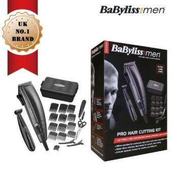 Harga Babyliss 7447BU Power Glide Pro Hair Clipper Set (Black)