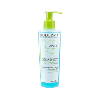 Harga Bioderma Sebium Purifying Foaming Gel (Combination or Oily Skin) 200ml
