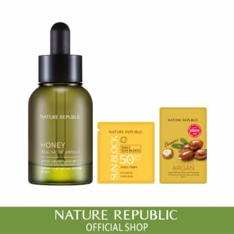 Harga Nature Republic Real Nature Ampoule Honey (2017 Renewal)