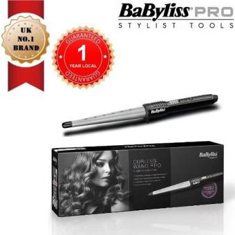 Harga BABYLISS 2285CU Curling Wand Pro 210C with 25mm - 13mm Ceramic Coated Barrel