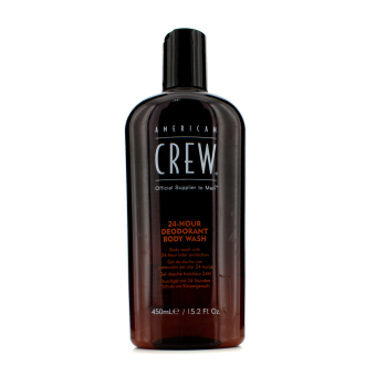 Harga American Crew 24-Hour Deodorant Body Wash 450ml/15.2oz