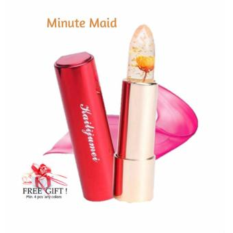 Harga KAILIJUMEI Pretty Floral Jelly Lipstick - Color : MINUTE MAID