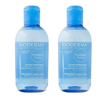 Harga 2 x Bioderma Hydrabio Tonique Moisturising Toning Lotion (Sensitve Dehydrated Skin) 250ml - intl