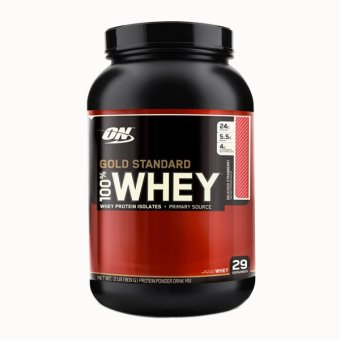 Harga Optimum Nutrition Gold Standard 100% Whey 2lbs - Strawberry