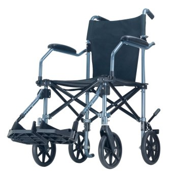 Harga Falcon Travel Lite Transport Wheelchair in a Bag (Black)