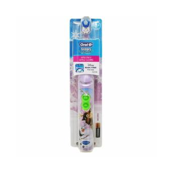Harga BRAUN Oral-B Disney Stages Power Electric Toothbrush For Kids, Model: FROZEN OLAF & SVEN