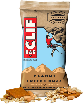 Harga Clif Bar Energy Bar Peanut Toffee Buzz 12 Pack With Free Gift