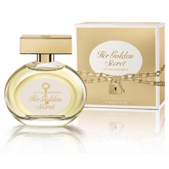 Harga Antonio Banderas Her Golden Secret Eau De Toilette 80ml