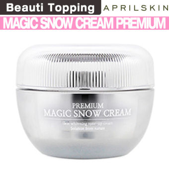 Harga April skin Magic Snow Cream Premium - intl
