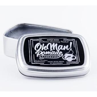 Harga Oh Man ! Pomade - Waterbased - Super Hard !!
