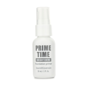 Harga Bare Escentuals BareMinerals Prime Time Brightening Foundation Primer 30ml/1oz