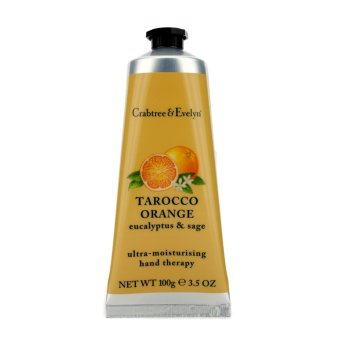 Harga Crabtree & Evelyn Tarocco Orange; Eucalyptus and Sage Ultra-Moisturising Hand Therapy 100g - intl