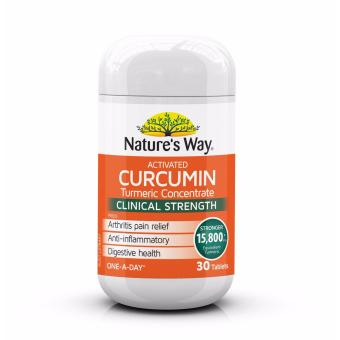 Harga Nature's Way Curcumin Turmeric Concentrate One - A - Day 30 Tablets