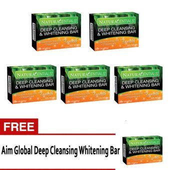 Harga NaturaCentials Deep Cleansing & Whitening Soap