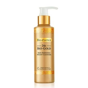 Harga Bio-essence 24K Bio-Gold Skin Radiance Night Cleanser 160g