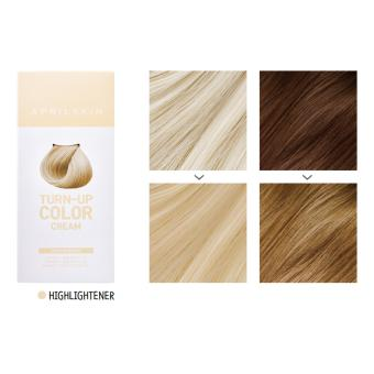 Harga [APRILSKIN] TURN-UP COLOR CREAM #HIGHLIGHTENER Hairdye 1 : 60g (Cream) - Intl