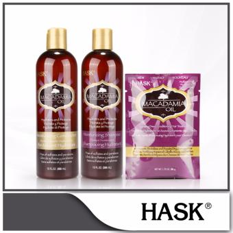 Harga Hask Macadamia Oil Moisturizing Hair Care Set
