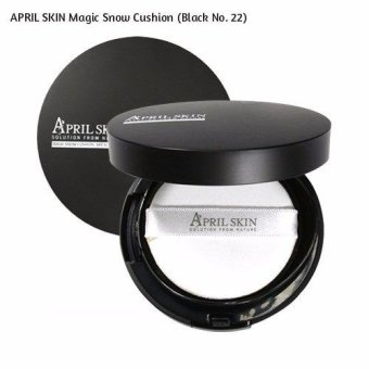 Harga APRIL SKIN Magic Snow Cushion (Black No. 22)