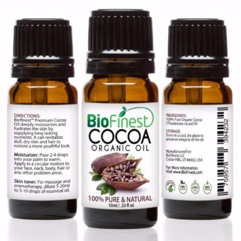 Biofinest Cocoa Organic Oil (100% Pure Organic Carrier Oil) 10ml