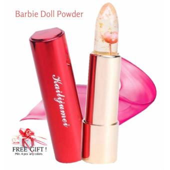 Harga KAILIJUMEI Pretty Floral Jelly Lipstick - Color : BARBIE DOLL POWDER