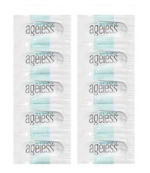 Harga Free postage, 20 Sachets Jeunesse Instantly Ageless - Botox Alternative, Eye cream, Anti Wrinkle, Pimples, Eyes bag, Pore, Scar quick fix.