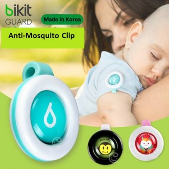 Harga (10 Pcs Set)-Korea Bikit Guard Clip MOSQUITO Insect Repellent for adult and children - 100% Natural -
