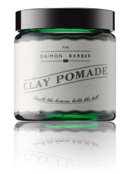 Harga The Daimon Barber No.4 clay Pomade