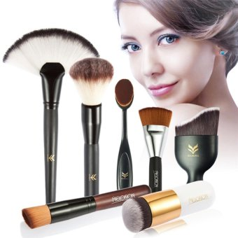 Harga 7-piece Combination Blush Brush Contour Brush Makeup Brush Kit - intl