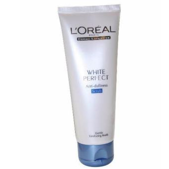 Harga L'Oreal Paris White Perfect Anti-Dullness Scrub