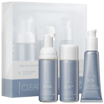 Harga Clearogen 1 Month Acne Treatment Set