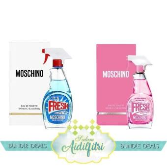 Harga Moschino Fresh Couture EDT Lady (100ml) & Moschino Pink Fresh Couture EDT Lady (100ml)