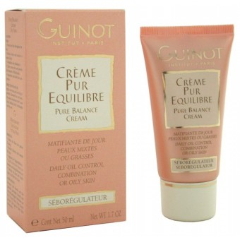 Harga Guinot Pure Balance Cream - Daily Oil Control (For Combination or Oily Skin) 50ml/1.7oz
