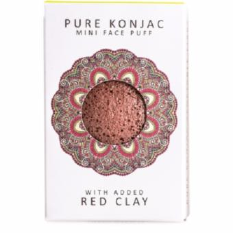 Mini Konjac Pore Refiner French Red Clay