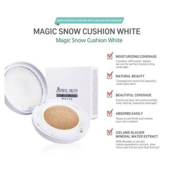 Harga April Skin Magic Snow Cushion #23 (White)