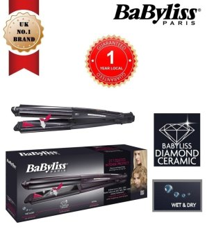 Harga Babyliss ST330E Straightener and Curler 2 in 1 (Black)