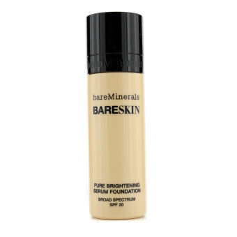 Harga Bare Escentuals BareSkin Pure Brightening Serum Foundation SPF 20 - # 04 Bare Ivory 30ml/1oz