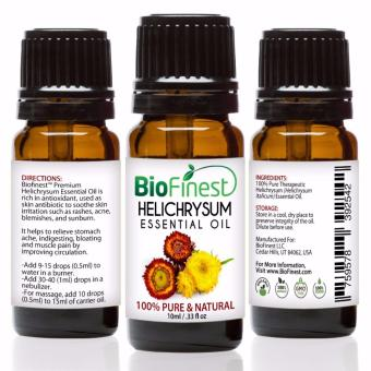Harga Biofinest Helichrysum Essential Oil (100% Pure Therapeutic Grade) 10ml