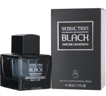 Harga Antonio Banderas Seduction in Black EDT Spray 50ml Men