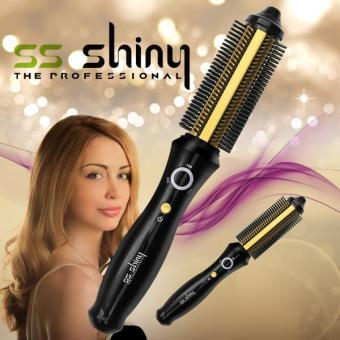 SS Shiny Smart Hair Iron Gold SS-SHINY018G / Wireless type / Hair Comb Iron / Hair Styler - intl