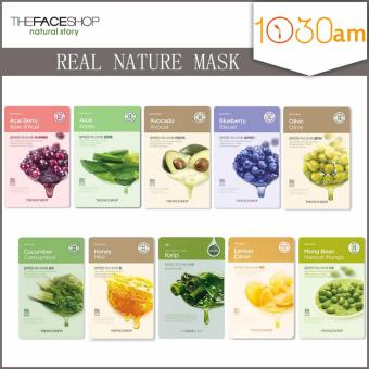 Harga The Face Shop Real Nature Mask *10pcs