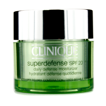 Harga Clinique Superdefense Daily Defense Moisturizer SPF 20 (Very Dry to Dry Combination) 50ml - intl