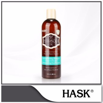 Harga HASK Bamboo Oil Strengthening Shampoo 355ml