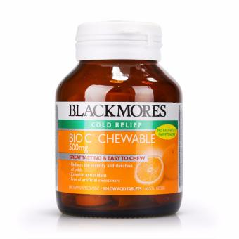 Harga Blackmores Bio C Chewable 500mg 50tabs