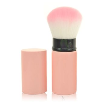 Harga 1PCS Cosmetic Makeup Brush Make Up Brushes , Easy to Carry , Retractable Universal Brush , Blush Brush , Powder Brush(Export)